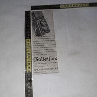 RT1733 PUBBLICITA' APPARECCHI FOTOGRAFICI ROLLEIFLEX FRANKE & HEIDECKE BRAUNSCHWEIG - Victorian Die-cuts
