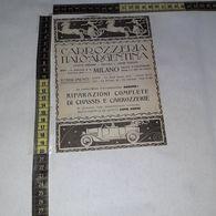 RT1735 PUBBLICITA' MILANO CARROZZERIA ITALO ARGENTINA - Victorian Die-cuts
