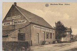 K32//  MOERBEKE WAES   STOOM  MELKERIJ   MOERVAART    !!!! - Belgique