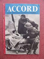 Livret Propagande ACCORD N° 8 WW II WW 2 De Gaulle Caen Cherbourg Monty Montgomery Koenig  Débarquement DDAY - 1939-45