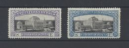 ROUMANIE.  YT  N° 194-195  Neuf *  1906  (voir Détail) - Nuovi