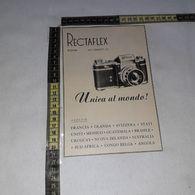 RT1740 PUBBLICITA' RECTAFLEX MACCHINE FOTOGRAFICHE - Victorian Die-cuts