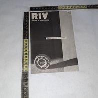 RT1741 PUBBLICITA' RIV OFFICINE DI VILLAR PEROSA - Victorian Die-cuts