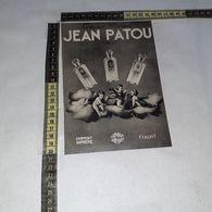 RT1743 PUBBLICITA' JEAN PATOU PORFUMS COLOGNE PARIS - Victorian Die-cuts