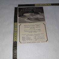 RT1744 PUBBLICITA' CERAMICA RICHARD GINORI - Victorian Die-cuts