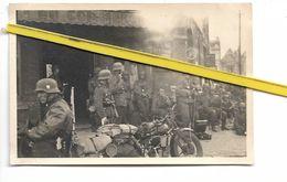 59 LAMBERSART CANTELEU  SOLDATS ALLEMANDS INVASION  1940 CAFE DU COMMERCE - Lambersart