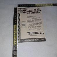 RT1747 PUBBLICITA' GENOVA S.A. LUBRIFICANTI E. FOLTZER TOURING OIL - Victorian Die-cuts