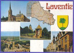 Carte Postale 62. Laventie  Géographique   Très Beau Plan - Laventie