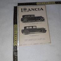 RT1748 PUBBLICITA' LANCIA FABBRICA AUTOMOBILI TORINO - Victorian Die-cuts