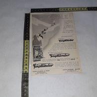 RT1749 PUBBLICITA' VOIGTLANDER & SOHN BRAUNSCHWEIG MACCHINE FOTOGRAFICHE - Victorian Die-cuts