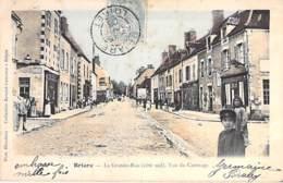 45 - BRIARE : La Grande Rue ( Côté Sud ) Vue Du Casrouge - CPA Colorisée - Loiret - Briare