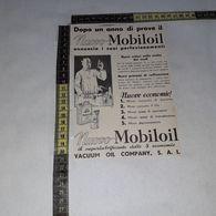 RT1750 PUBBLICITA' VACUUM OIL COMPANY SAI MOBILOIL - Victorian Die-cuts