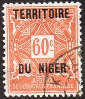 Niger N° Taxe  7 - Ornement - Niger (1921-1944)