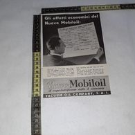 RT1753 PUBBLICITA' VACUUM OIL COMPANY S.A.I. MOBILOIL - Victorian Die-cuts