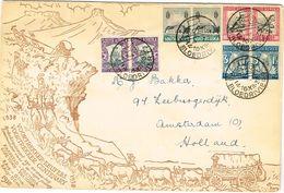 SOUTH AFRICA 1938 Voortrekker Centenary Blood River Bloedriver Postmark - South Africa (...-1961)