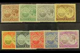1920-21  Tercentenary 1st Issue Complete Set, SG 59/67, Fine Mint. (9) For More Images, Please Visit Http://www.sandafay - Bermudas