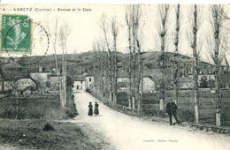 N°1726 R -cpa Varetz -avenue De La Gare- - Autres Communes