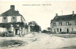 N°1729 R -cpa Ouzouer Sur Loire -route De Gien- - Ouzouer Sur Loire