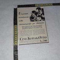 RT1757 PUBBLICITA' CINE-KODAK OTTO CINEPRESE - Victorian Die-cuts