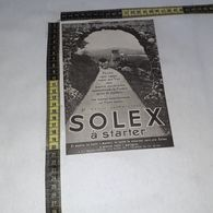 RT1758 PUBBLICITA' SOLEX A STARTER CARBURATORI - Victorian Die-cuts