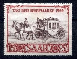 RC 17988 SARRE COTE 60€ N° 270 JOURNÉE DU TIMBRE 1950 NEUF * TB - 1947-56 Occupation Alliée