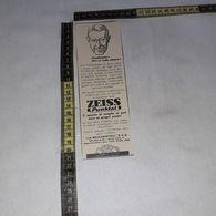 RT1761 PUBBLICITA' ZEISS PUNKTAL APPARECCHI FOTOGRAFICI - Victorian Die-cuts
