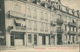 88  GERARDMER / Immeuble De La Societe Nanceienne / - Gerardmer