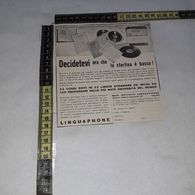 RT1764 PUBBLICITA' LINGUAPHONE - Victorian Die-cuts