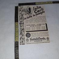 RT1765 PUBBLICITA' OLIO CARLI ONEGLIA - Victorian Die-cuts