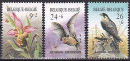 Tr_ Belgien 1987 - Mi.Nr. 2296 - 2298 - Postfrisch MNH - Tiere Animals Vögel Birds - Ohne Zuordnung