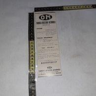 RT1769 PUBBLICITA' BRESCIA OM FABBRICA BRESCIANA AUTOMOBILI - Victorian Die-cuts