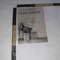 RT1771 PUBBLICITA' OLIO DANTE - Victorian Die-cuts