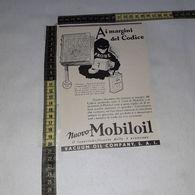 RT1773 PUBBLICITA' VACUUM OIL COMPANY S.A.I. MOBILOIL - Victorian Die-cuts
