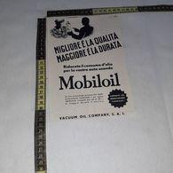 RT1774 PUBBLICITA' VACUUM OIL COMPANY S.A.I. MOBILOIL - Victorian Die-cuts