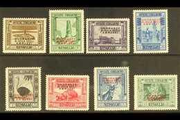 SOMALIA  1934 Duke Of The Abruzzi Overprints Complete Set (Sassone 185/92, SG 179/86), Never Hinged Mint, Very Fresh. (8 - Italie