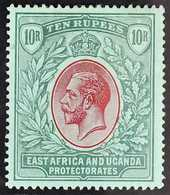 1912-21  10r Red & Green On Green KGV, SG 58, Fine Mint, Fresh. For More Images, Please Visit Http://www.sandafayre.com/ - Par EDITEURS