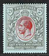 1921  2r Red & Black On Blue KGV, SG 72, Fine Mint, Fresh. For More Images, Please Visit Http://www.sandafayre.com/itemd - Par EDITEURS