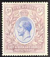 1921  5r Blue & Dull Purple KGV, SG 74, Fine Mint, Fresh. For More Images, Please Visit Http://www.sandafayre.com/itemde - Par EDITEURS