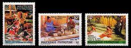 (095) Fr. Polynesia / Polynesie Fr.  1986 / Culture / Folkore  ** / Mnh  Michel 457-459 - Non Classés