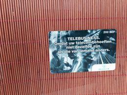 Prepaid Calling Card Telebusiness Belgacom 15/09/1999 Used Rare ! - Belgique