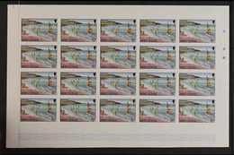PROGRESSIVE COLOUR IMPERF PROOFS  1986Tourism Complete Set (SG 710/23) - Each Value With Seven Different Progressive Co - Montserrat