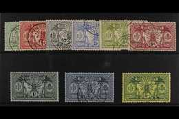 ENGLISH  1911 Complete Definitive Set, SG 18/28, Fine Used. (9 Stamps) For More Images, Please Visit Http://www.sandafay - New Hebrides