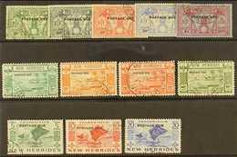 POSTAGE DUES  FINE USED GROUP Incl. 1925 Set, 1938 Set To 40c, 1953 5c, 10c & 20c, SG D1/5, D6/9, D11/13, Very Fine Us - New Hebrides