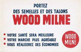 Buvard Wood Milne Portez Des Semelles - Papel Secante