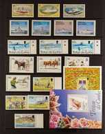 1990-1998 NEVER HINGED MINT  All Different Collection Of Sets And Miniature Sheets, Strongly Represented For The Period. - Tristan Da Cunha