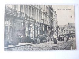 A Vendre Belle  Carte Postale De Cambrai. Rue De L'ange Maison Février Nombreux Personnages.petit Prix - Cambrai