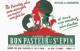 Buvard Wlaines Du Bon Pasteur Et De St épin Paris - L
