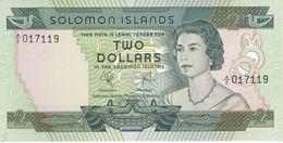 BILLETE DE SALOMON ISLANDS DE 2 DOLLARS DEL AÑO 1977 SIN CIRCULAR-UNCIRCULATED - Salomons