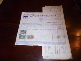 FF1 Document  Facture VDH Meubels Van Der Haegen Gebroeders Izegem Avec Mandat De Paiement 1953 - Belgien