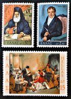 GRECIA 1971 - 150 ANIVERSARIO DE LA GUERRA DE LA INDEPENDENCIA - YVERT Nº 1054/1056** - Greece